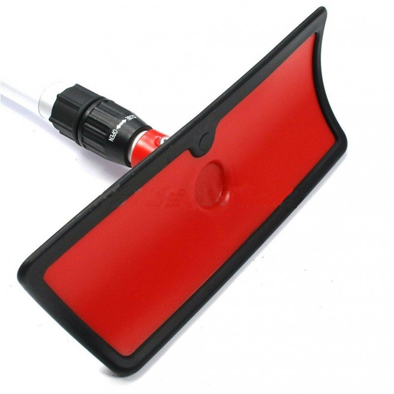 Лопатка для уборки снега со скребком Audi Ice Scraper with Snow Shovel and Telescopic Rod, Red/Black