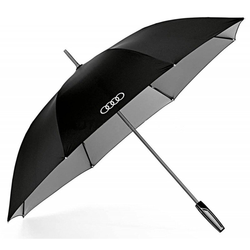 Зонт-трость Audi Stick Umbrella, big, black/titan