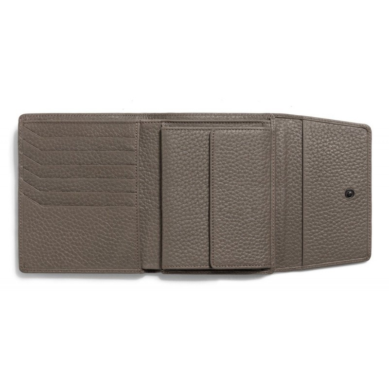 Женское портмоне Audi Wallet Leather Taupe, Women