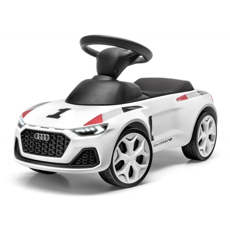 Детский автомобиль Audi Junior quattro Pikes Peak, Kids, White