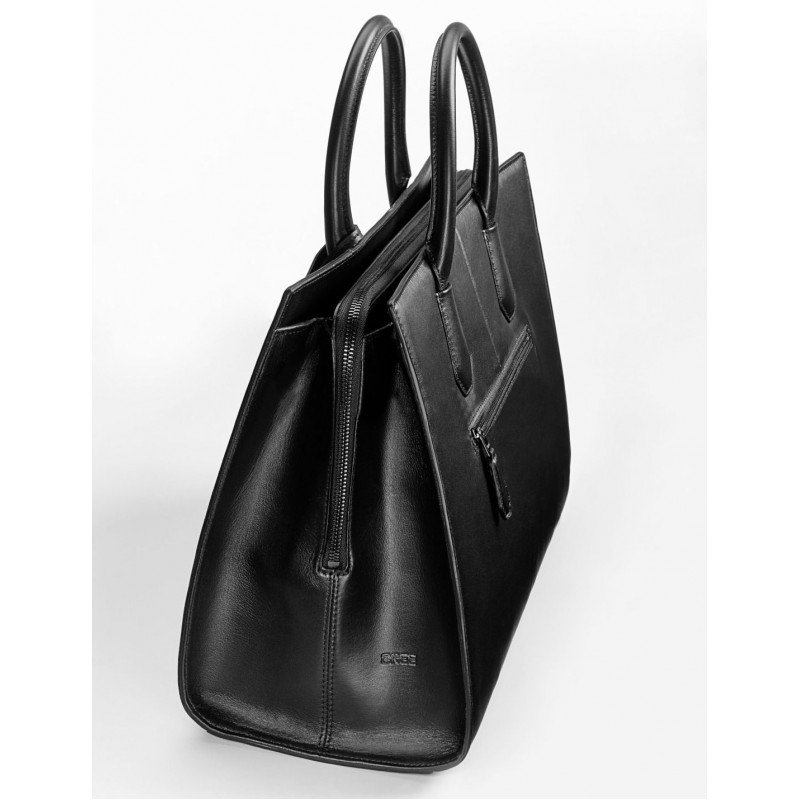Женская сумка Mercedes Handbag, Leather, be Bree, Black