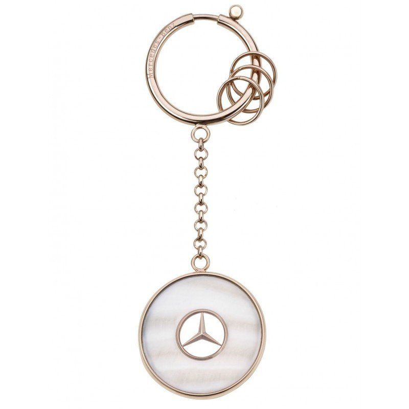 Брелок для ключей Mercedes-Benz Key Ring, Prague, Pink Gold Colours