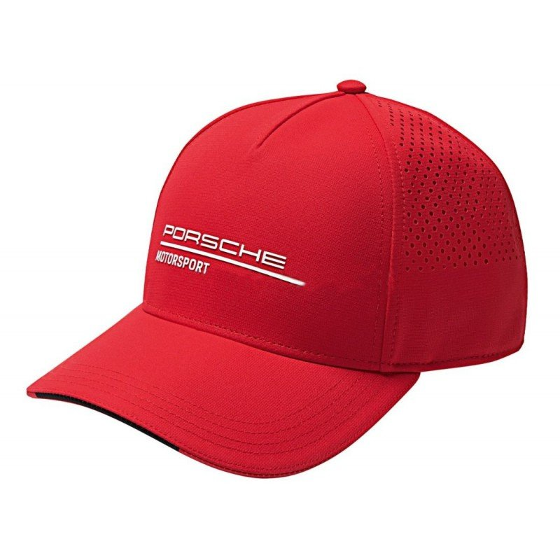 Бейсболка Porsche Motorsport Baseball Cap, Red MY2019