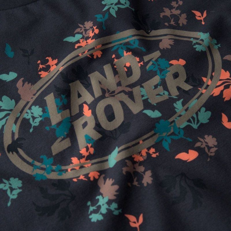 Женская футболка Land Rover Women's Graphic T-shirt, Navy,
